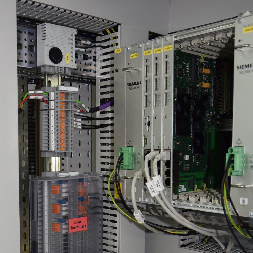 Control Switchboards For A Power Plant In Malawi Reschreiter Wiring Numbering System Nkula1